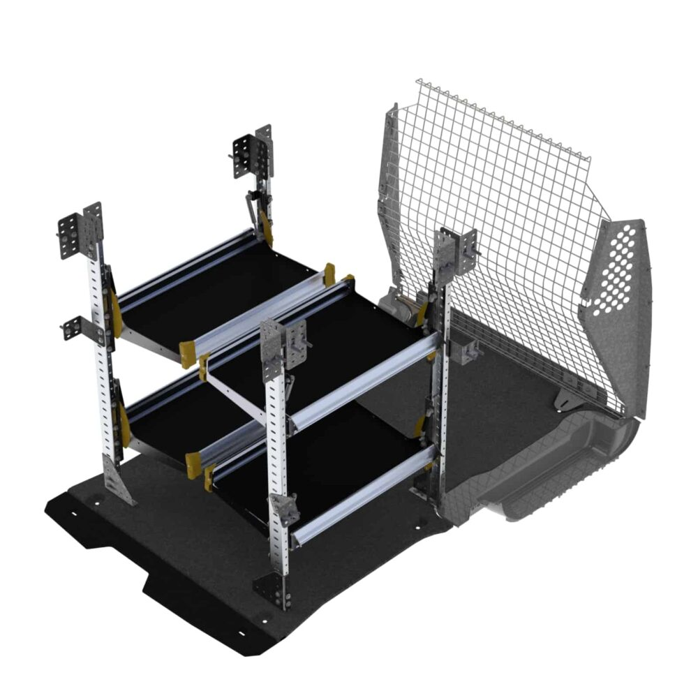 Delivery Van Shelving Package, Ford Transit Connect Long Wheel Base – TCL-19