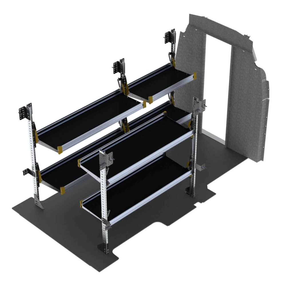 Delivery Van Shelving Package, Ford Transit High Roof – FTH-19