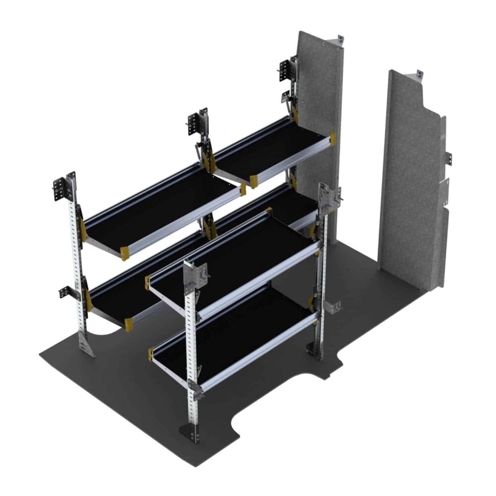 Delivery Van Shelving Package, Nissan NV High Roof – NVH-19