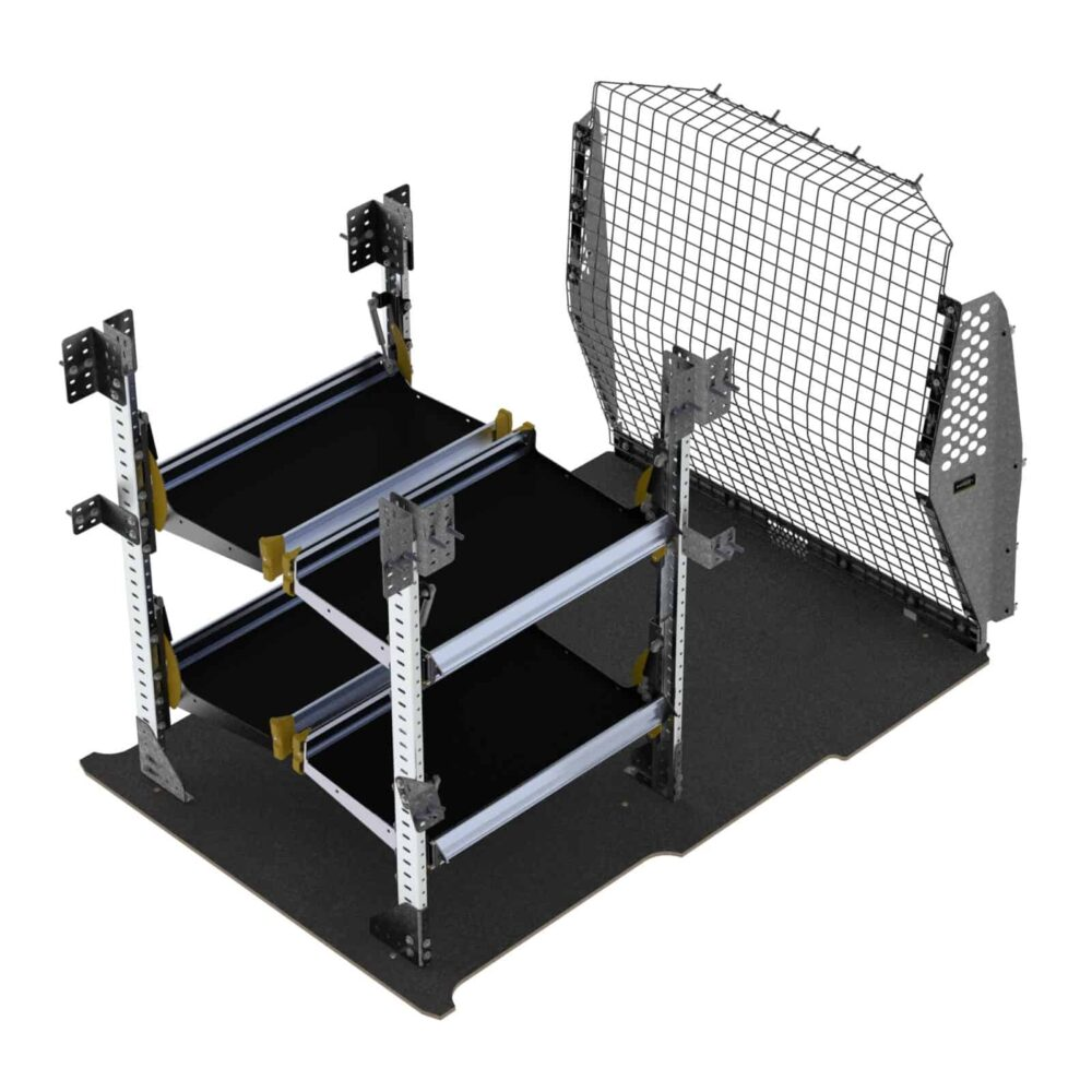 Delivery Van Shelving Package, RAM ProMaster City – PMD-19