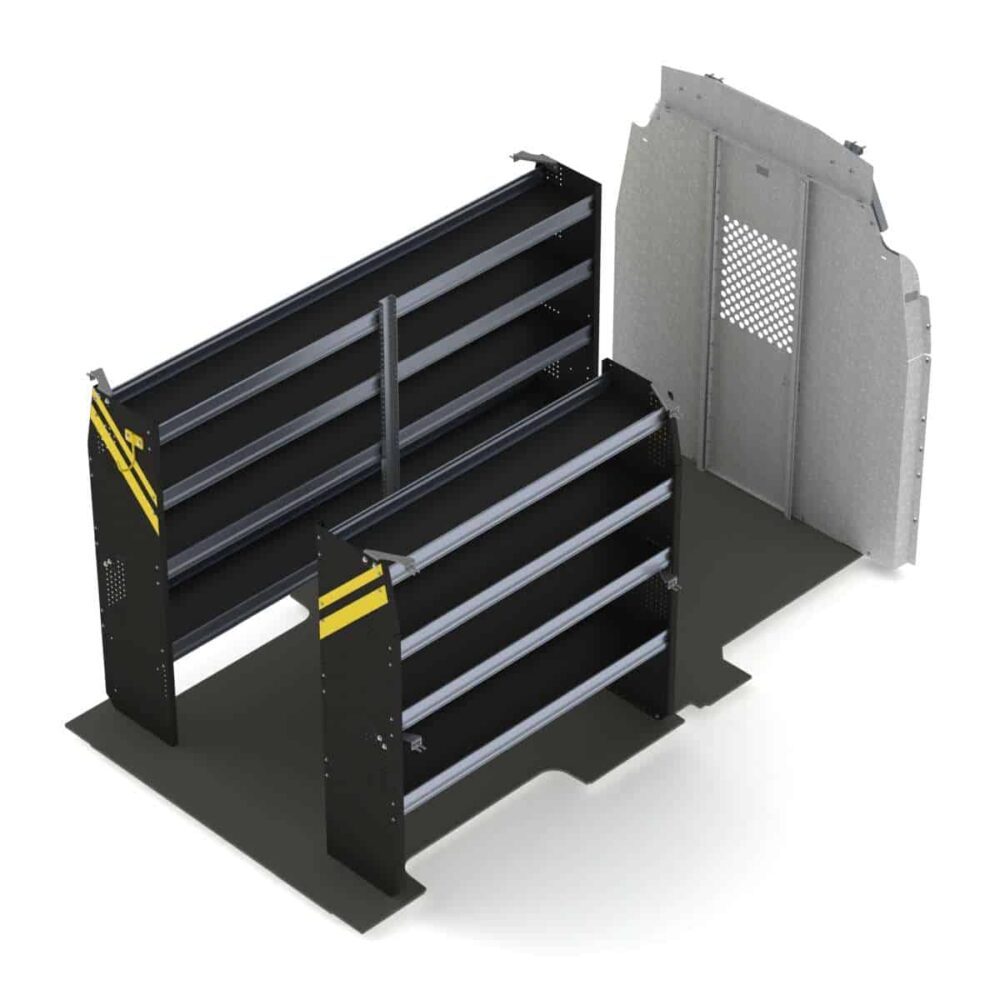 Contractor Van Shelving Package, Ford Transit High Roof – FTH-10