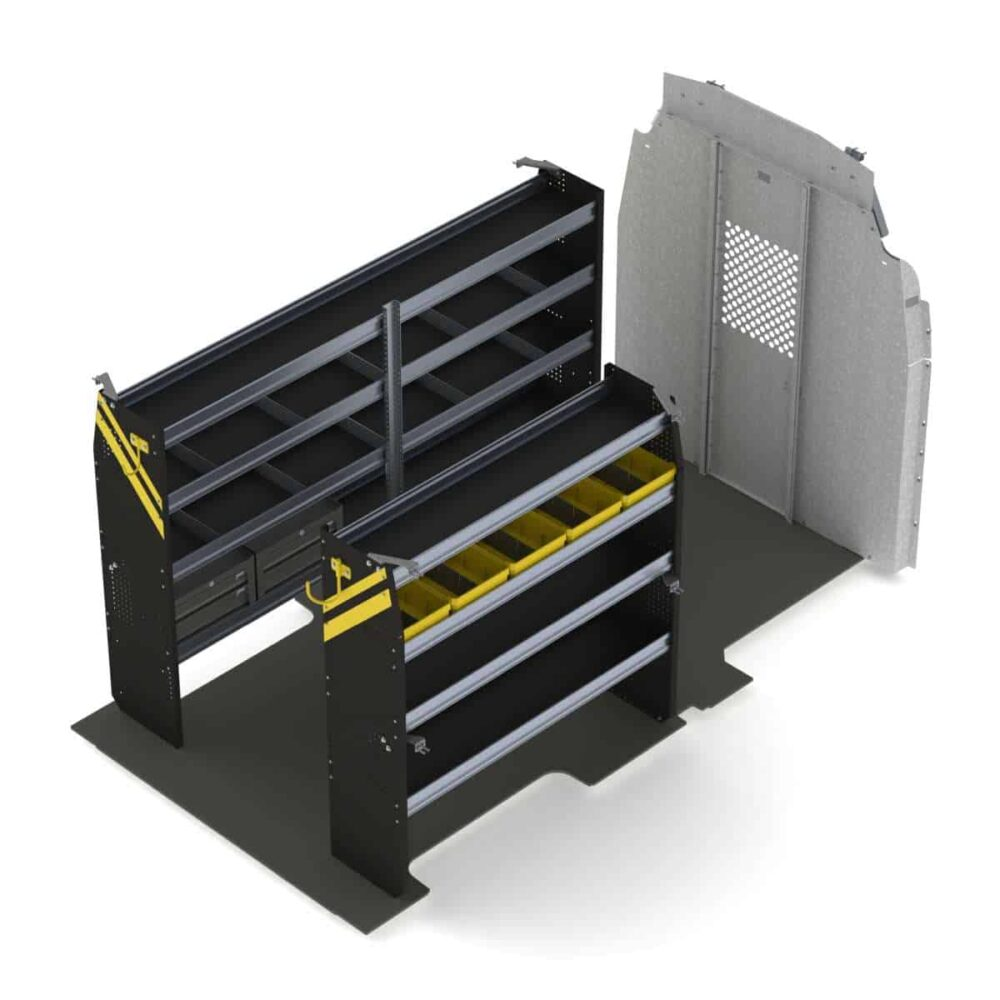 Service Van Shelving Package, Ford Transit High Roof – FTH-16