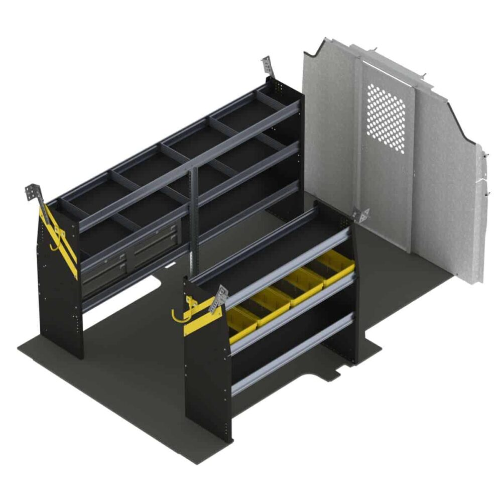 Service Van Shelving Package, Ford Transit Low Roof – FTL-16
