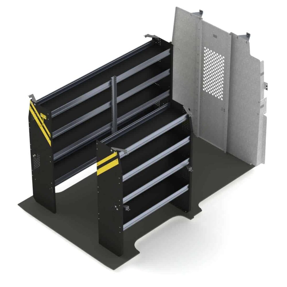 Contractor Van Shelving Package, Nissan NV High Roof – NVH-10