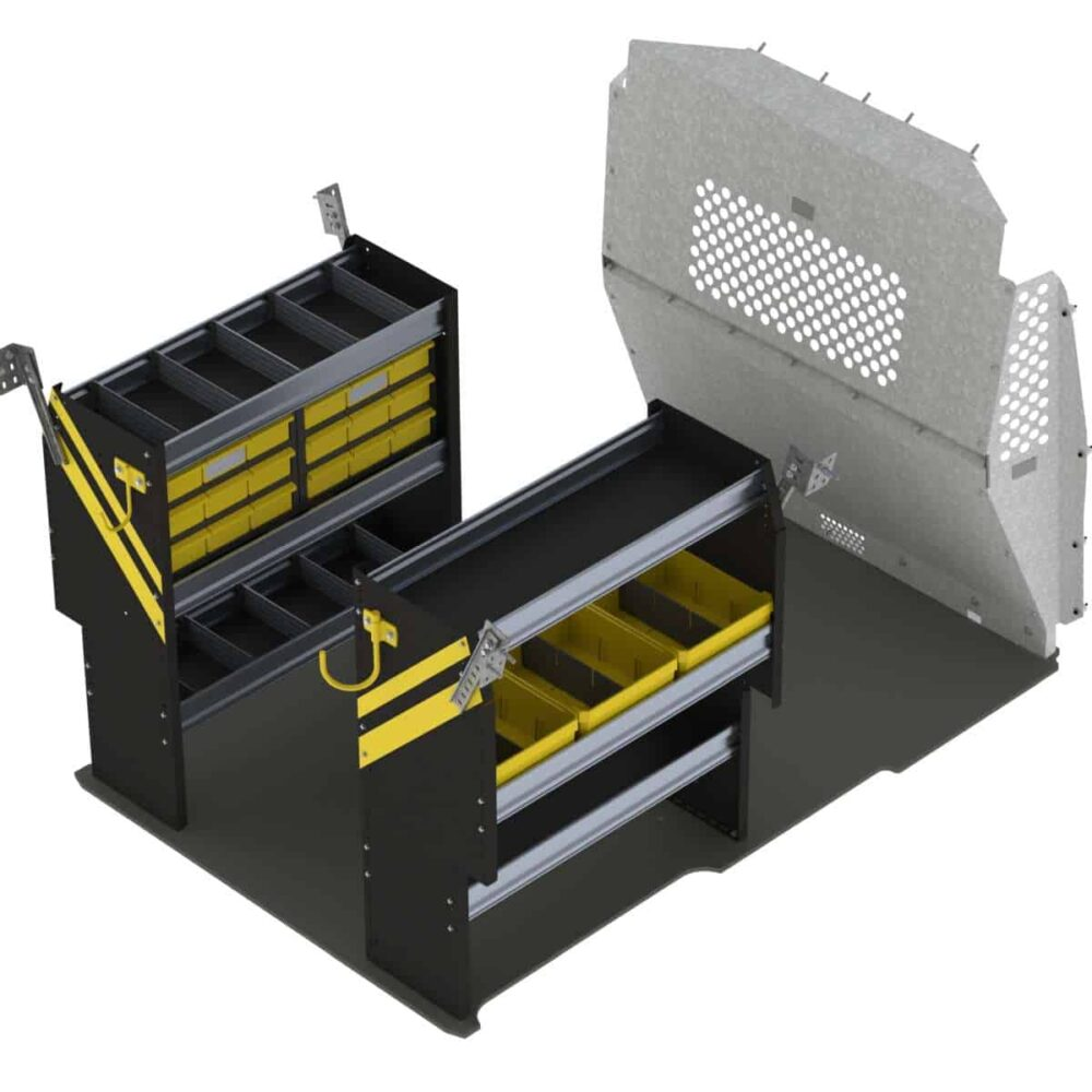 Service Van Shelving Package, RAM ProMaster City – PMC-16