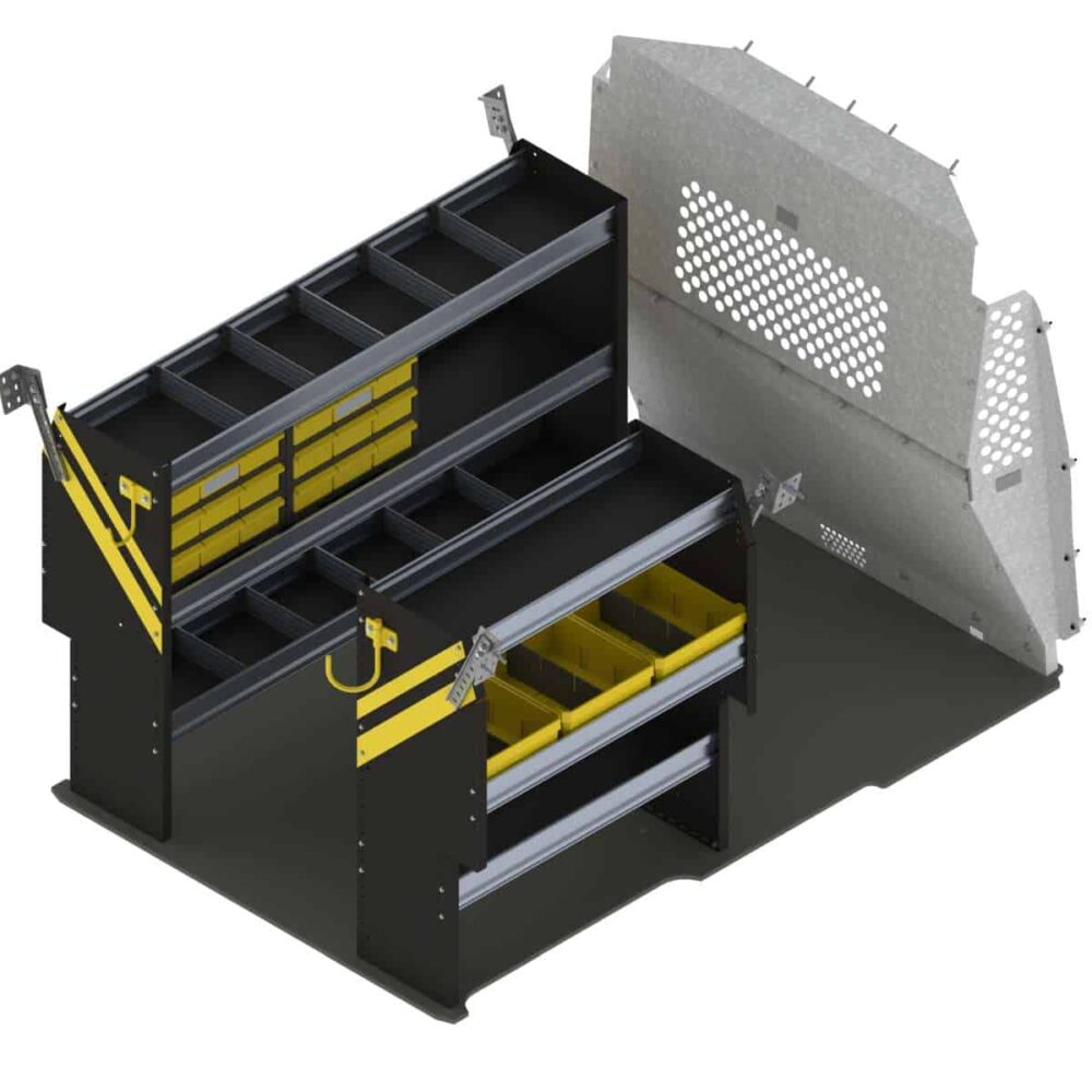 Service Van Shelving Package, RAM ProMaster City – PMD-16